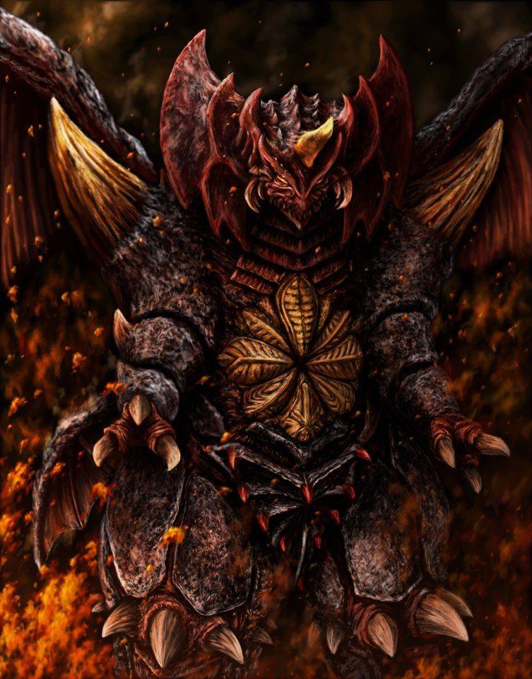Destroyah The most malevolent nasty enemy to Godzilla 753x960