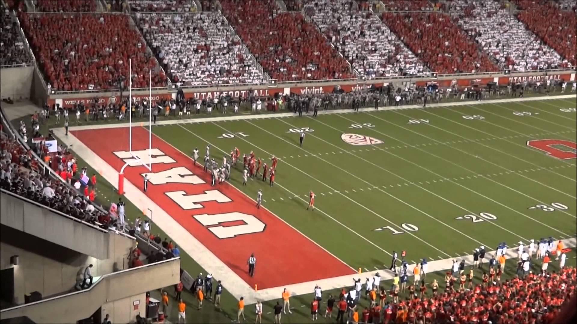 University Of Utah Utes VS Utah State University Aggies Football Game 1920x1080