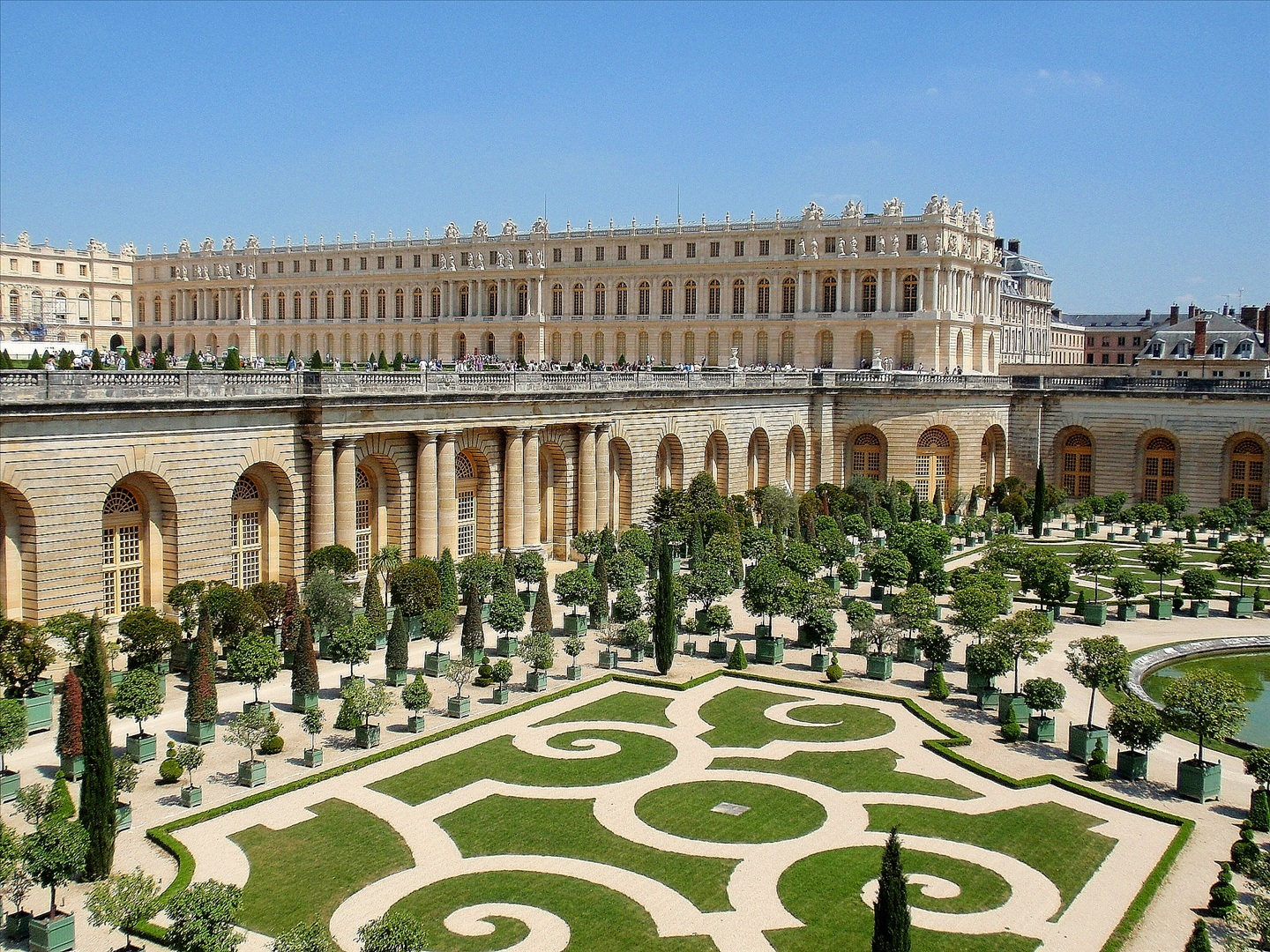 Palace of Versailles 3 HD Wallpaper Landmarks Wallpapers 1440x1080