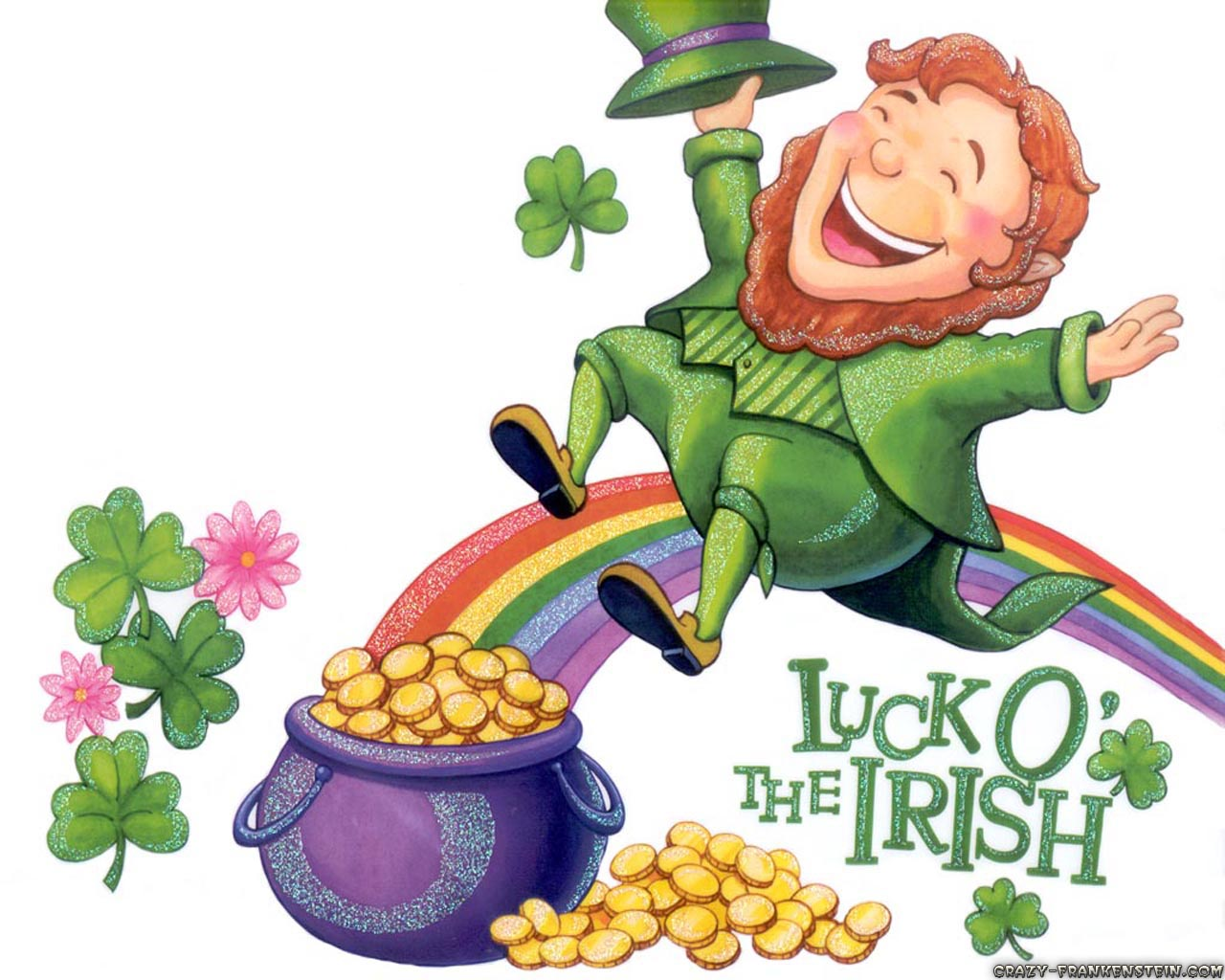 related posts luck of the irish wallpaper luck o the irish luck of the 1280x1024