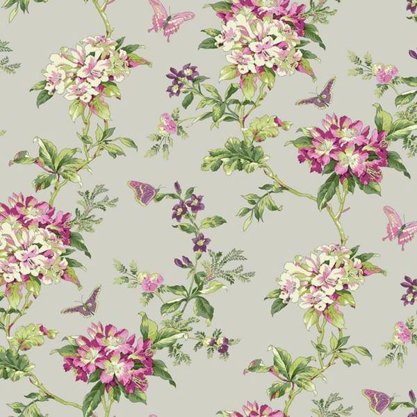 Waverly Jacobean Wallpaper Wallpapersafari
