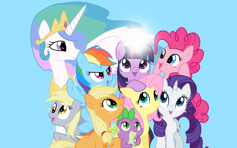 Download My Little Pony Friendship Is Magic 2880x1800 HD Wallpaper 2880x1800