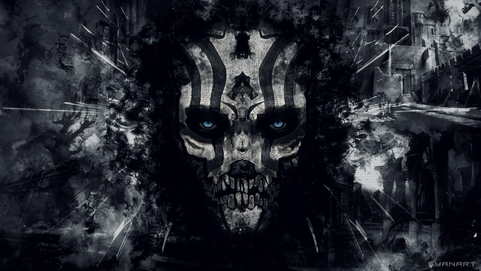 Dark Evil Skull Wallpapers   Top Dark Evil Skull Backgrounds 1920x1080