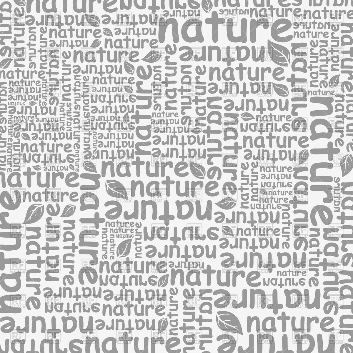 Background with words nature Vector Image of Backgrounds Textures 1200x1200