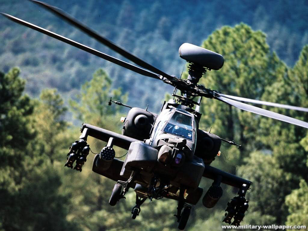 Apache Helicopter Wallpapers 1024x768