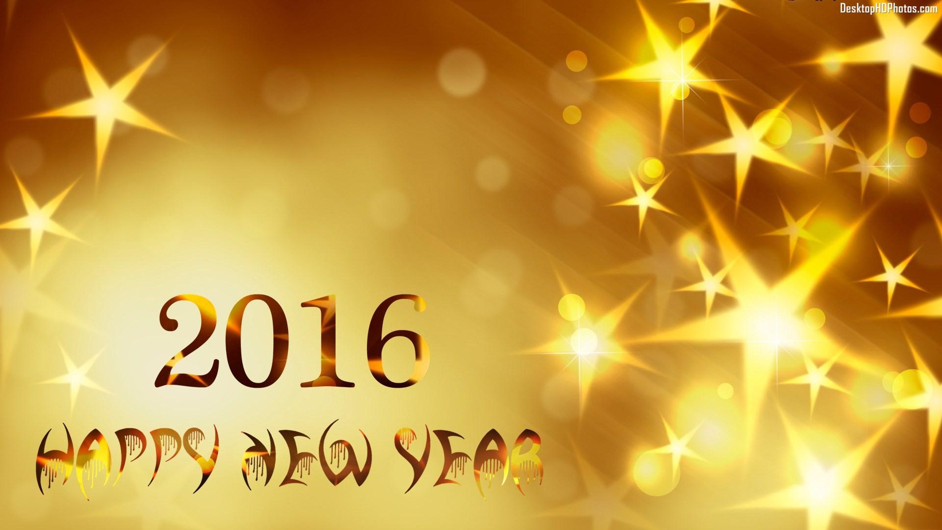 Top 30 Best HD Happy New Year 2016 Wallpapers for Desktop 1920x1080