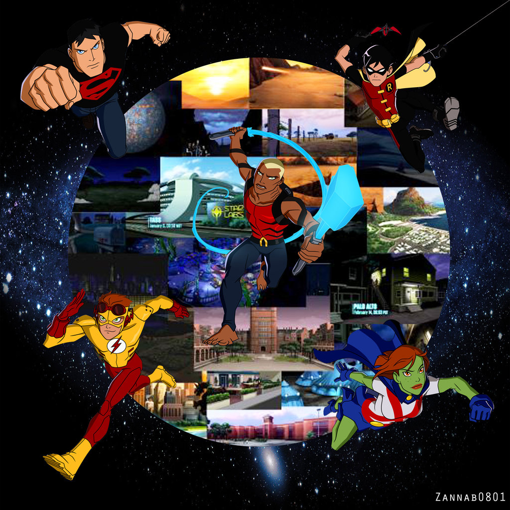 Young Justice wallpaper by Zannab0801 on deviantART 1024x1024