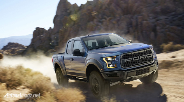 Ford claimed they made F 150 Raptor 2017 become bigger tougher 630x350