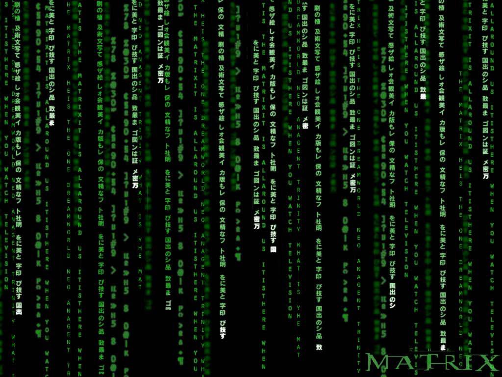 Matrix code wallpapers   W3 Directory Wallpapers 1024x768