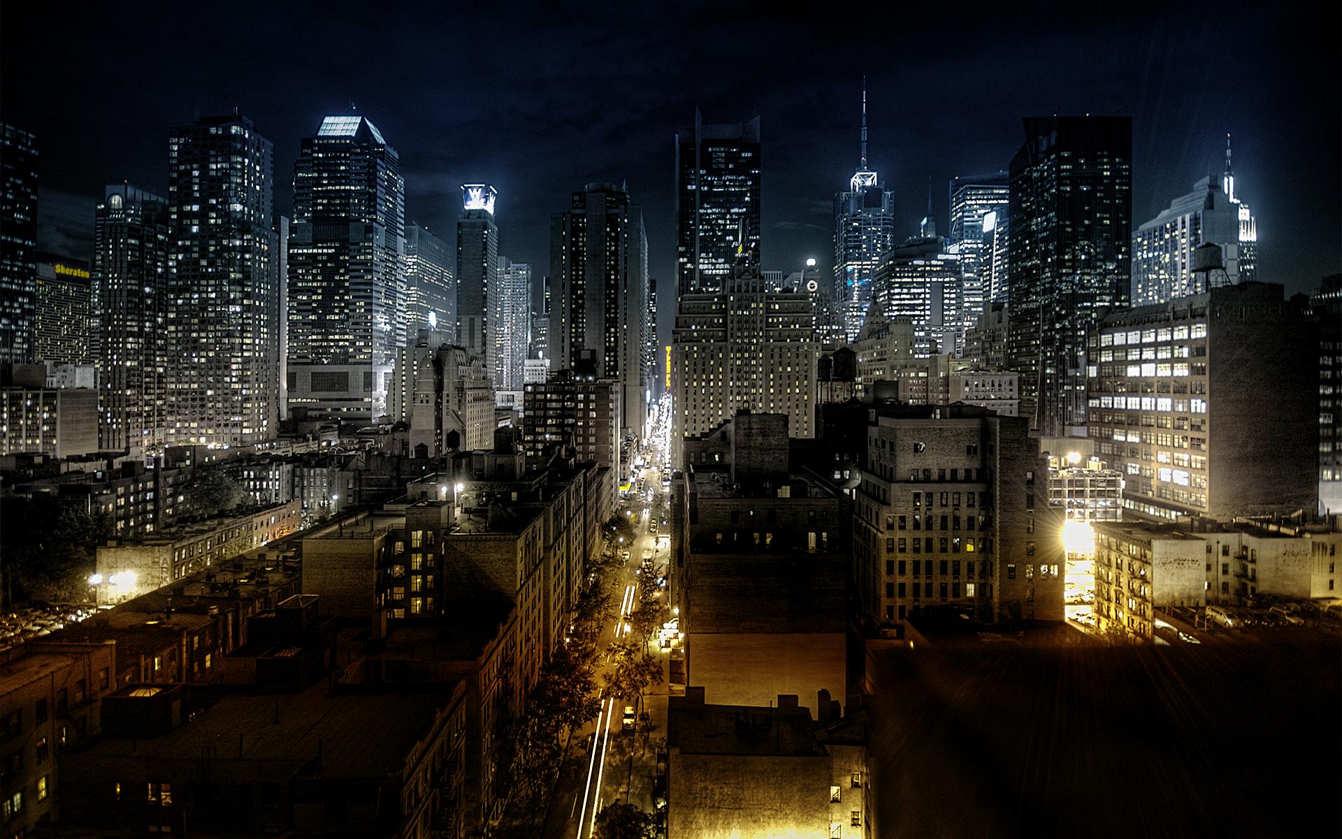 Download Cityscapes Night Wallpaper 1920x1200 Wallpoper 1920x1200