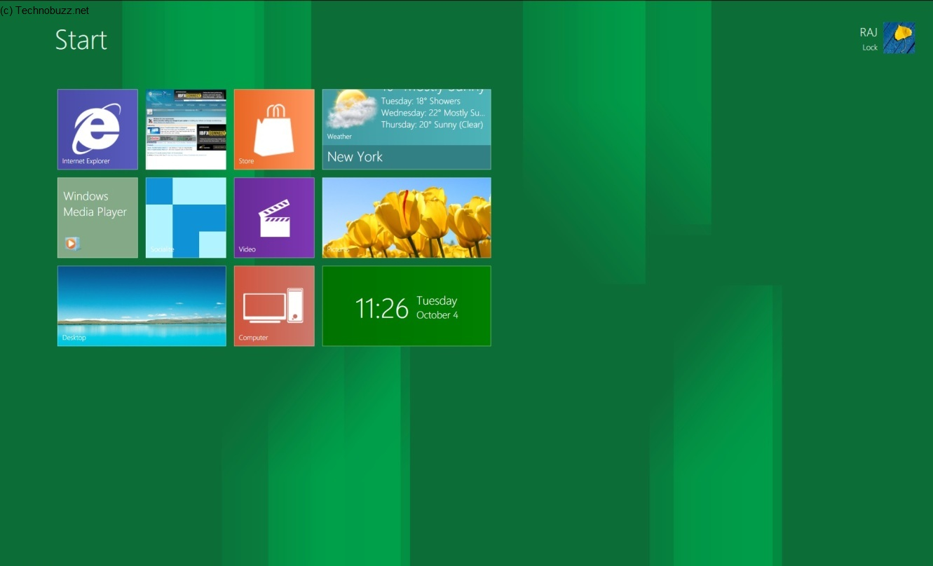 Enjoy Windows 8 on Your Windows 7 with Windows 8 UX Pack 1331x808