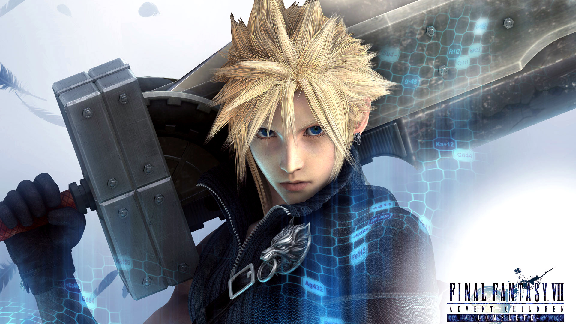 wallpapers blonde hair blue eyes cloud strife final fantasy final 1920x1080