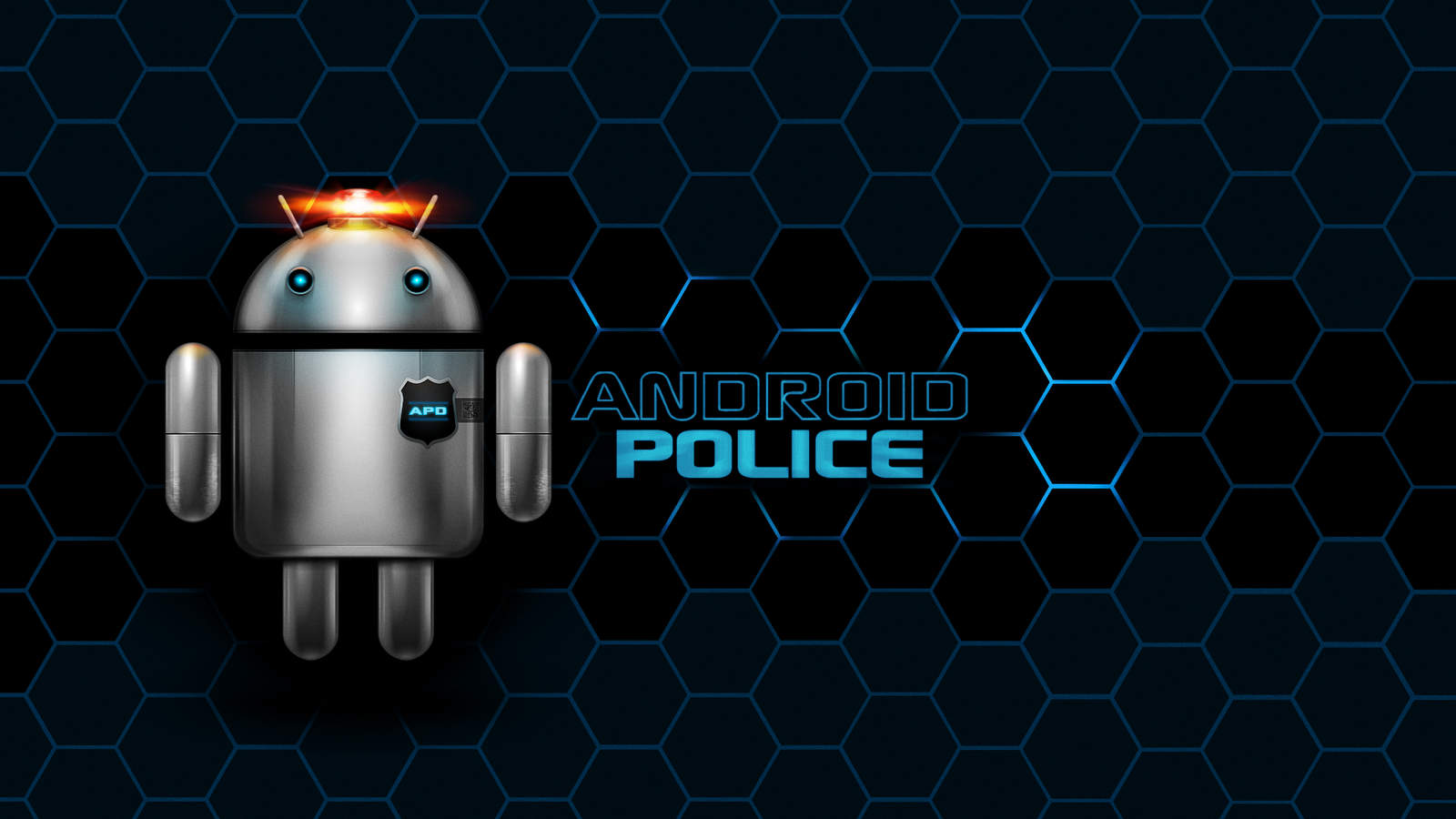 Robot Police Wallpaper