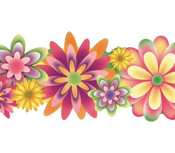 floral wallpaper borders 2015   Grasscloth Wallpaper 600x525