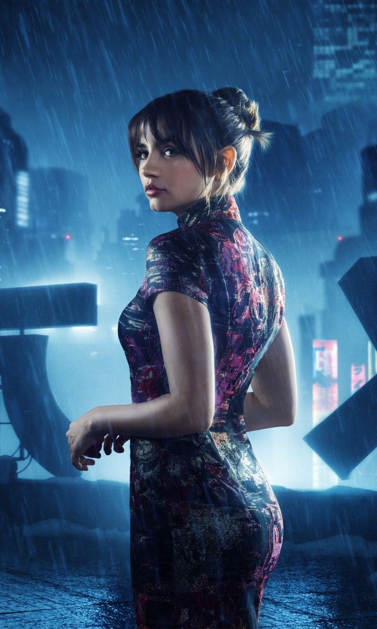 blade runner 2049 joi Ana de Armas as Joi in Blade Runner 2049 768x1280