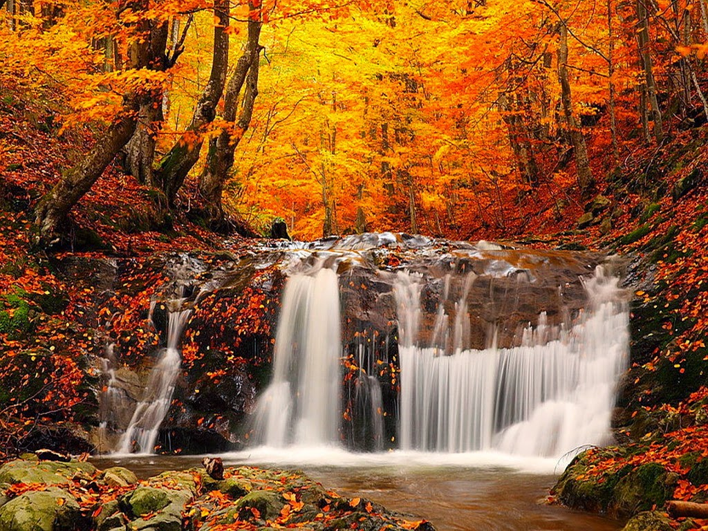 12 Most Beautiful Waterfall Wallpapers for Desktop Background Most 1024x768