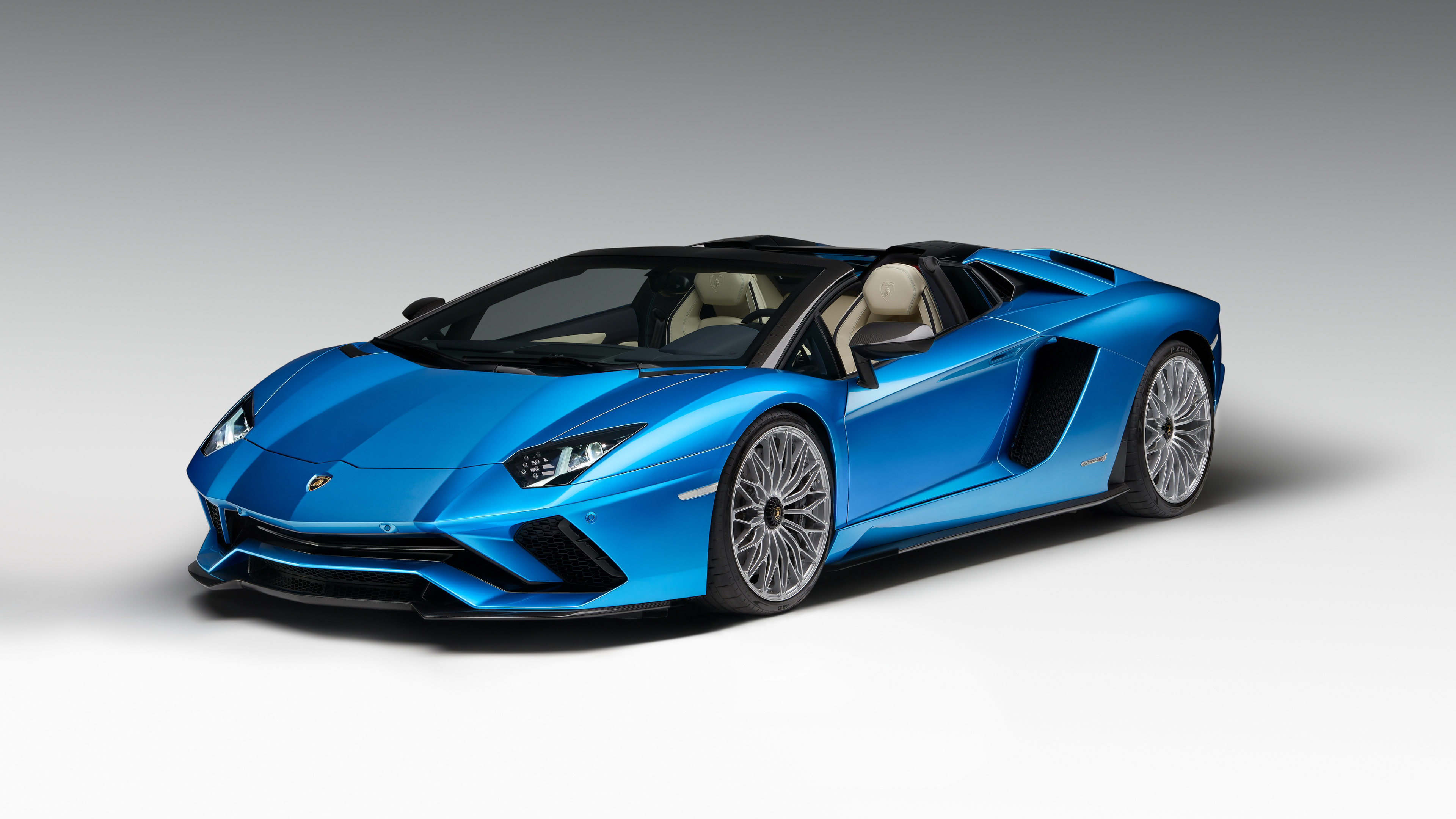 2018 Lamborghini Aventador S Roadster 4K Wallpaper HD Car 3840x2160