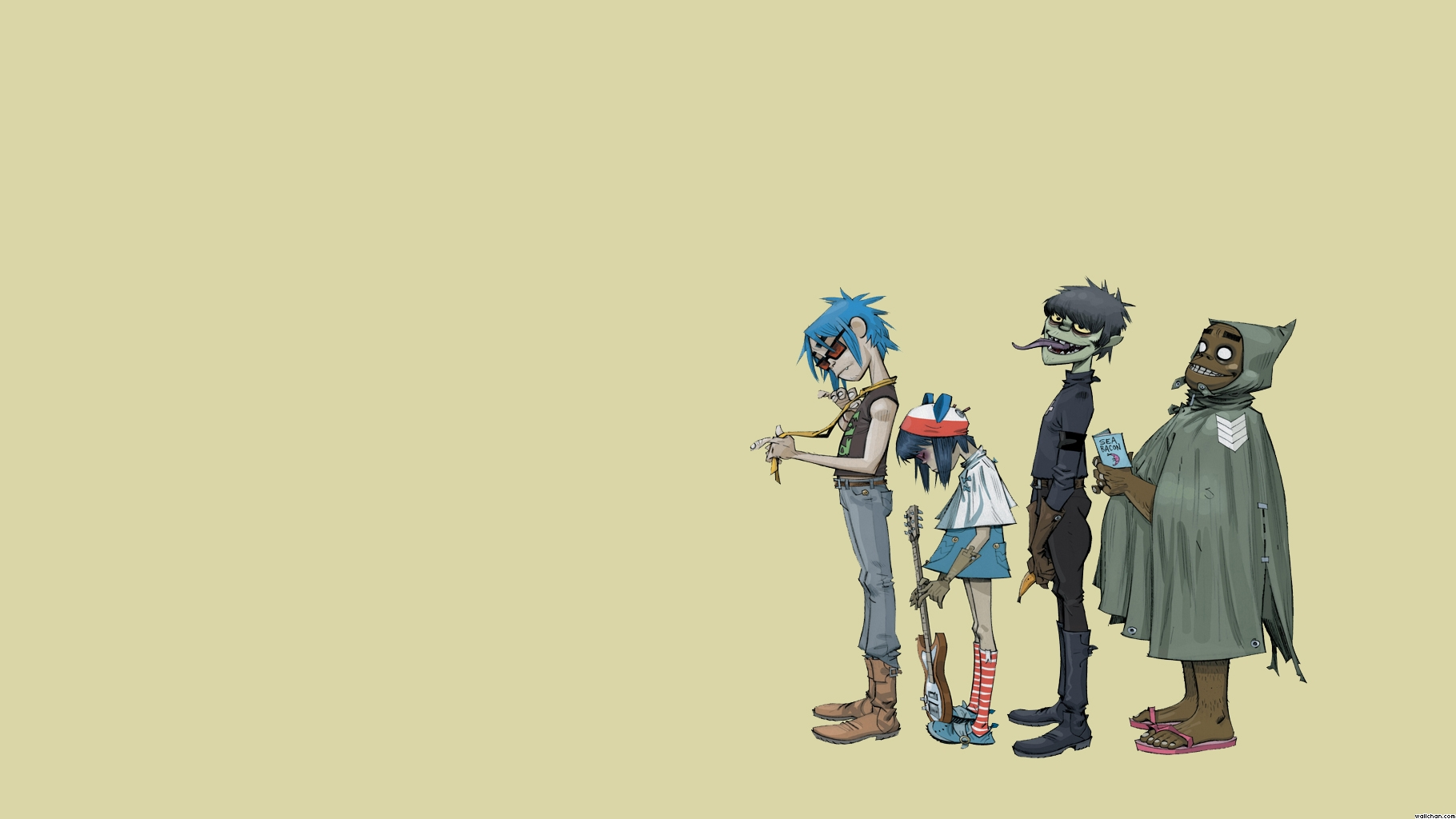 76 Gorillaz Wallpaper On Wallpapersafari