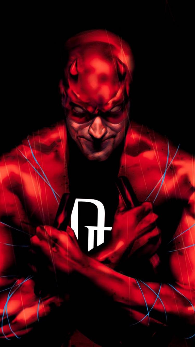 Download Wallpaper 750x1334 Daredevil Art Marvel comics iPhone 6 HD 750x1334