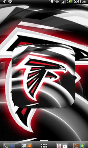 Agrandir vue Atlanta Falcons Wallpaper Art pour capture dcran 307x512