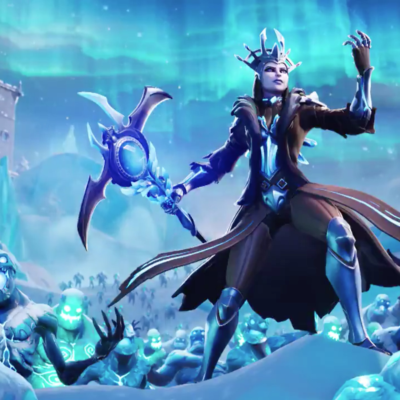 Fortnites Ice Storm cometh Ice King dumps blizzard on the whole 1400x1400