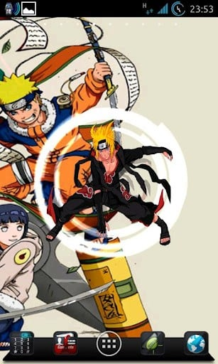 View bigger   Naruto Fan Live Wallpaper for Android screenshot 307x512