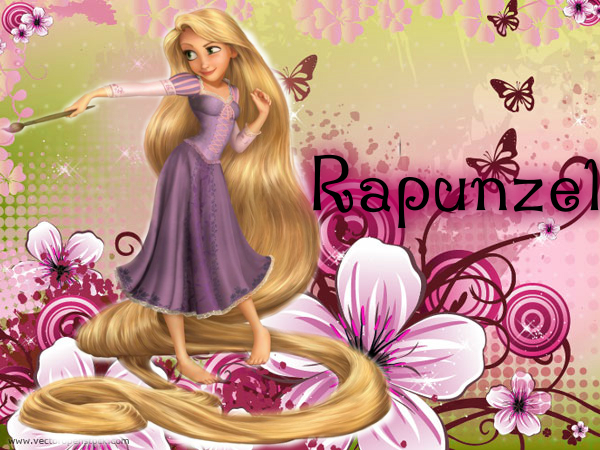 Rapunzel Wallpaper by Marianux1999 600x450