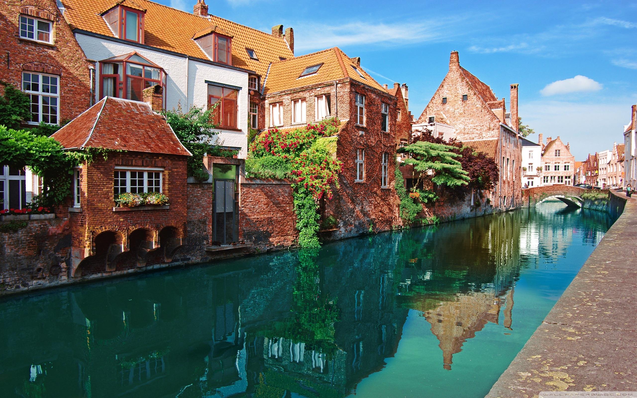 Bruges Belgium 4K HD Desktop Wallpaper for 4K Ultra HD TV 2560x1600