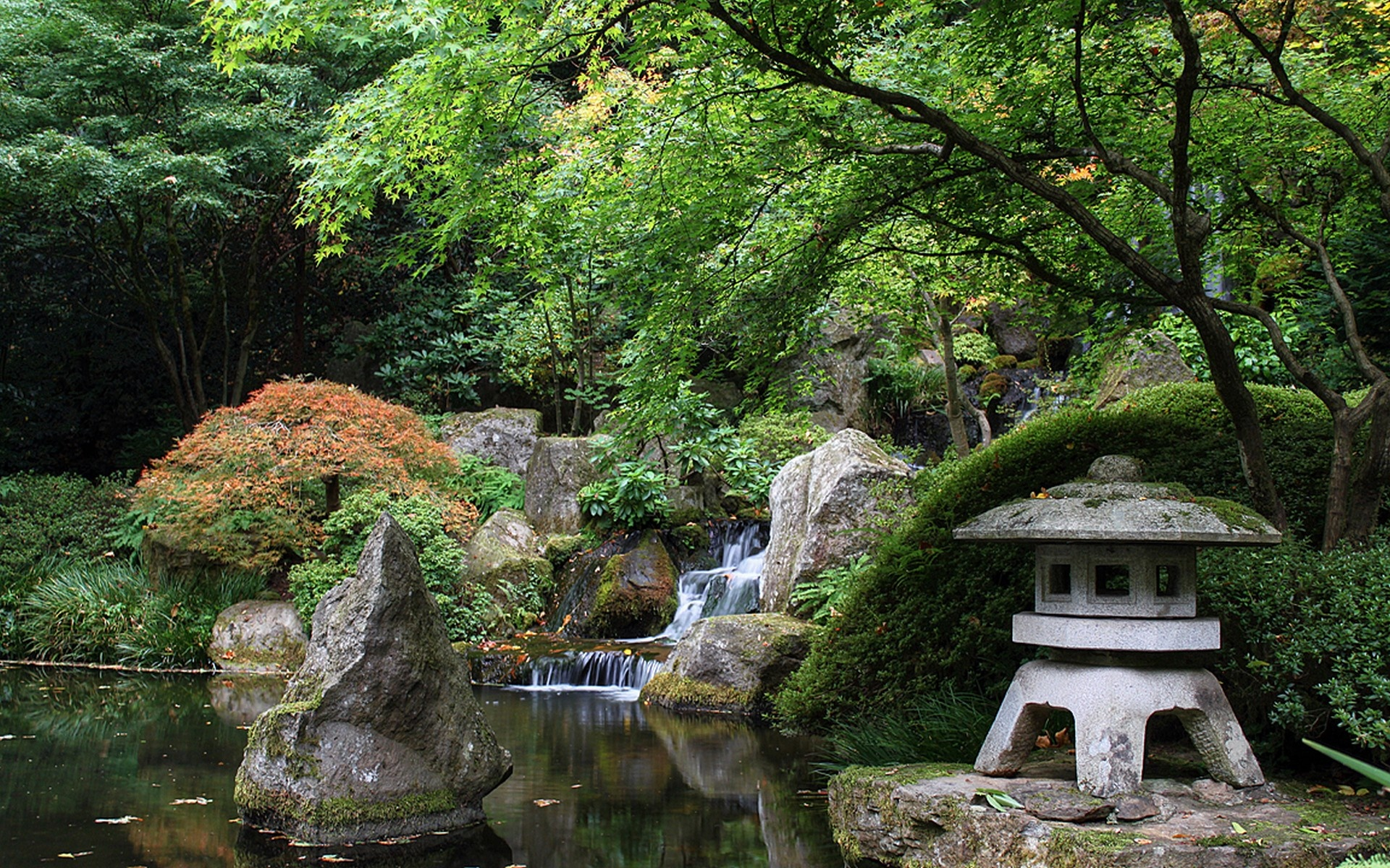 Japanese Garden Wallpapers: Portland Oregon Desktop Wallpaper