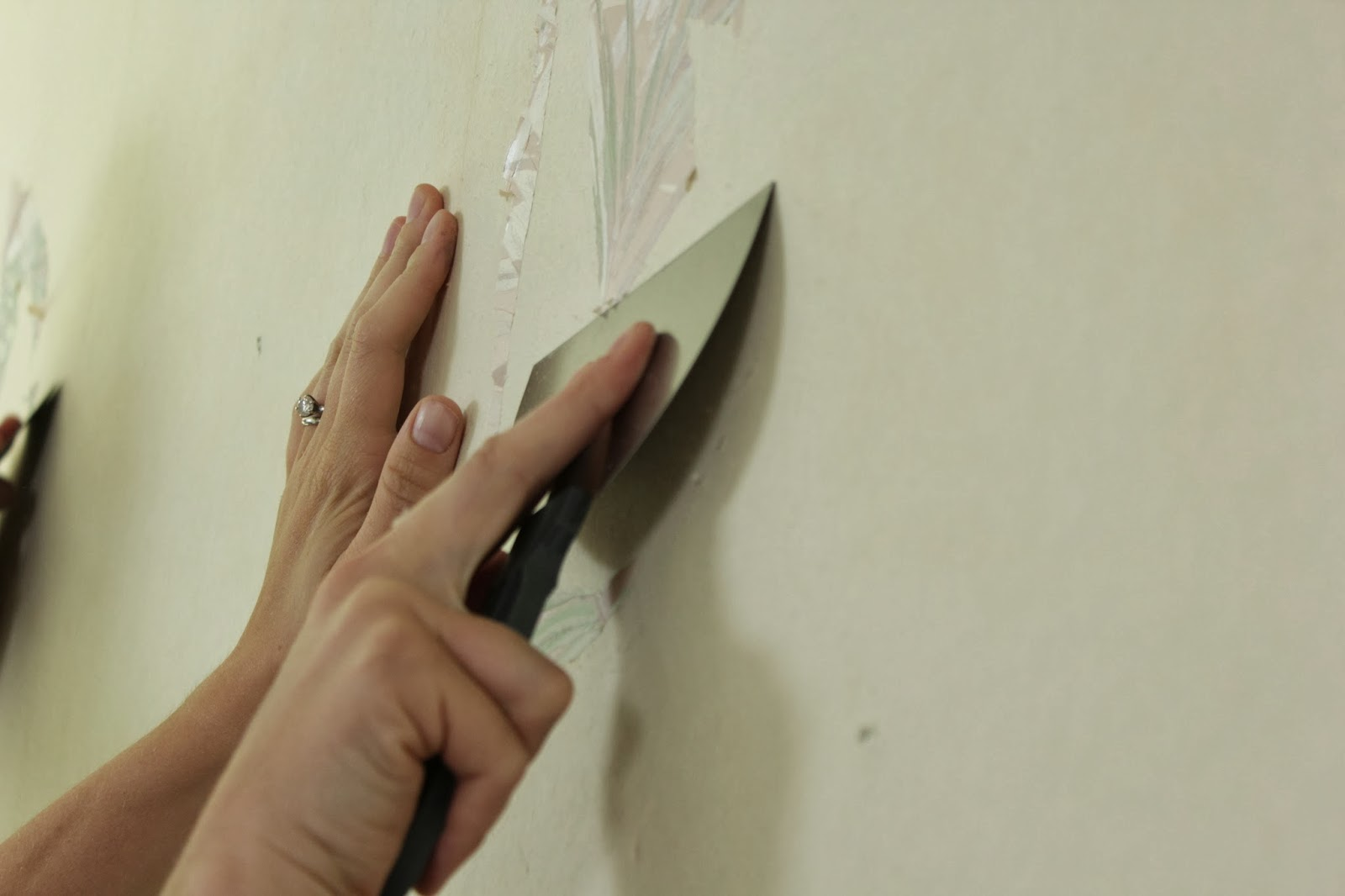 How to Remove Wallpaper the Easy Way   East Coast Creative Blog 1600x1066
