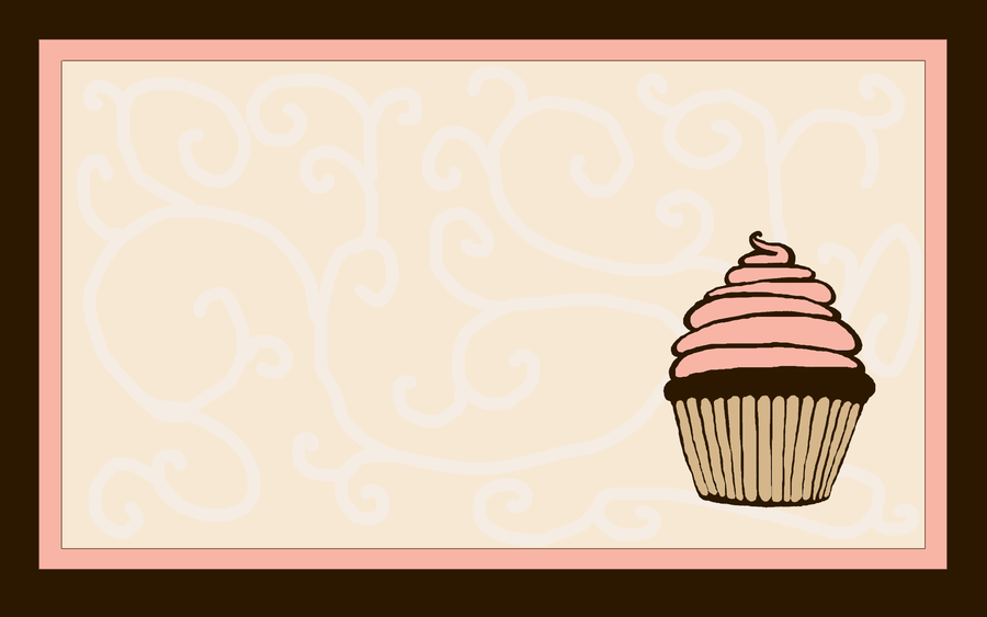 Pink Cupcake Wallpaper 2 by mrskupe 900x563