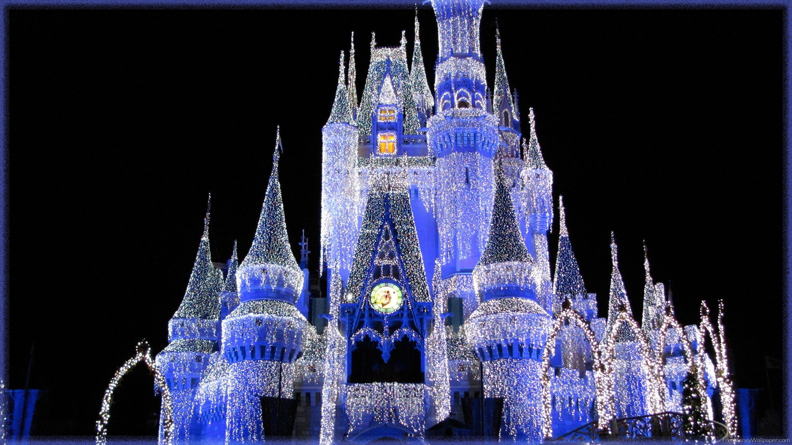 Disney Wallpaper Disney Wallpapers Cinderella Castle 2560x1440