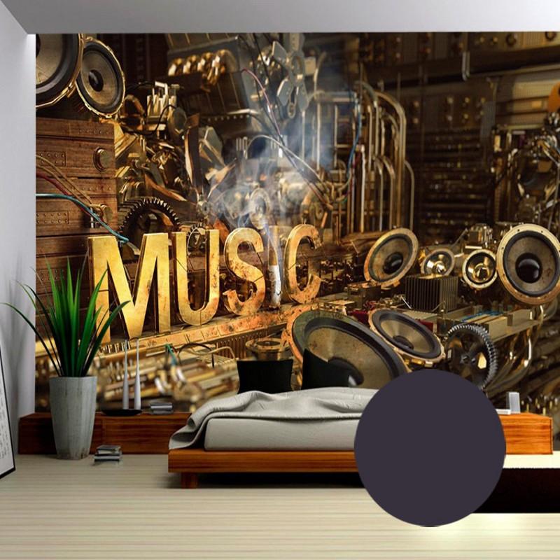 Hot Sale Photo Wallpaper 3d European Style Retro Music   Facebook 800x800