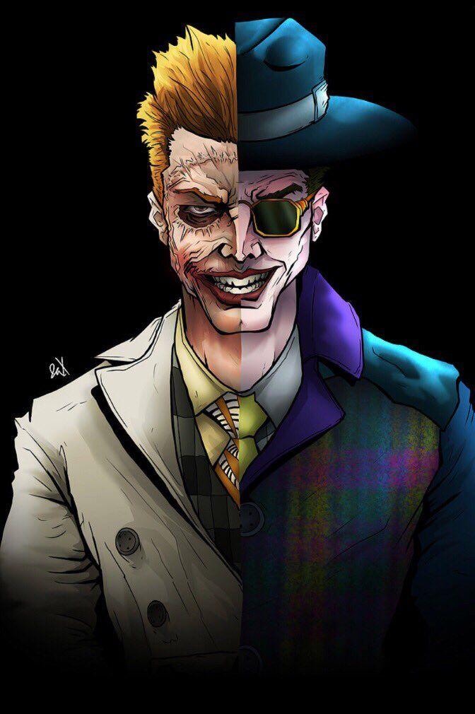 Jerome Jeremiah Valeska are the Joker Gotham Cmics de 672x1010