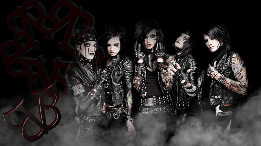 Black Veil Brides background by TheTricksterGFX 900x506