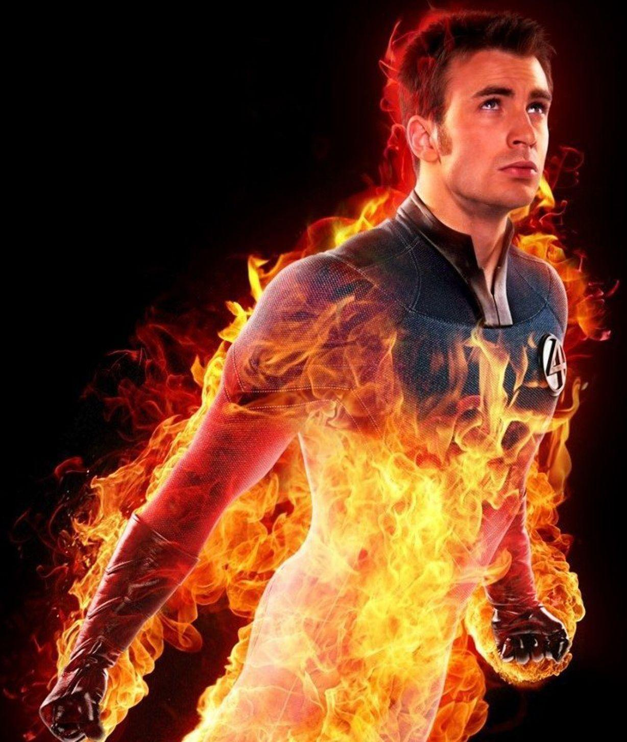 Human Torch Wallpapers 1228x1454