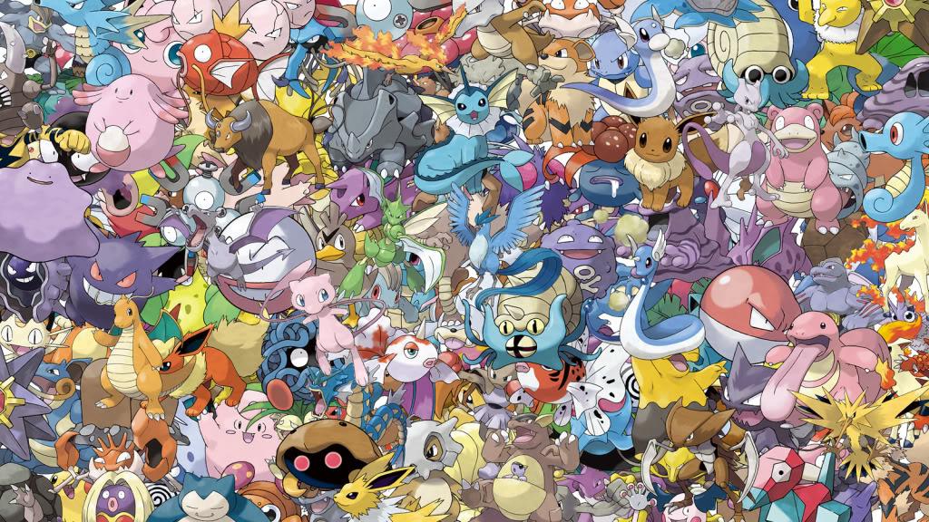 Download All Kanto Pokemon Wallpaper 1024x576 Full HD Wallpapers 1024x576