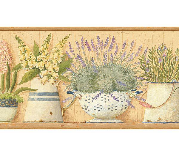 URL httpwwwinteriorplacecomgardeners kitchen wallpaper border 600x525