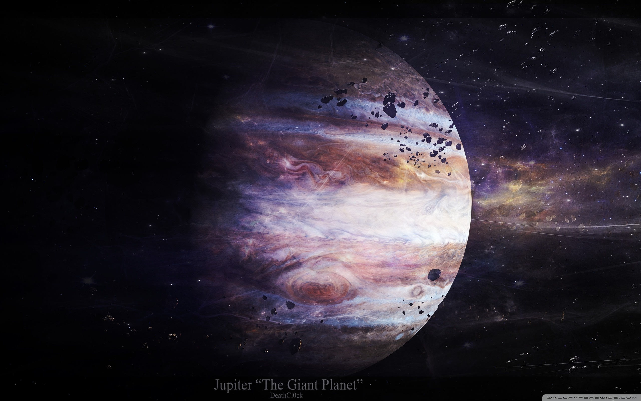 Jupiter 4K HD Desktop Wallpaper for 4K Ultra HD TV 2560x1600