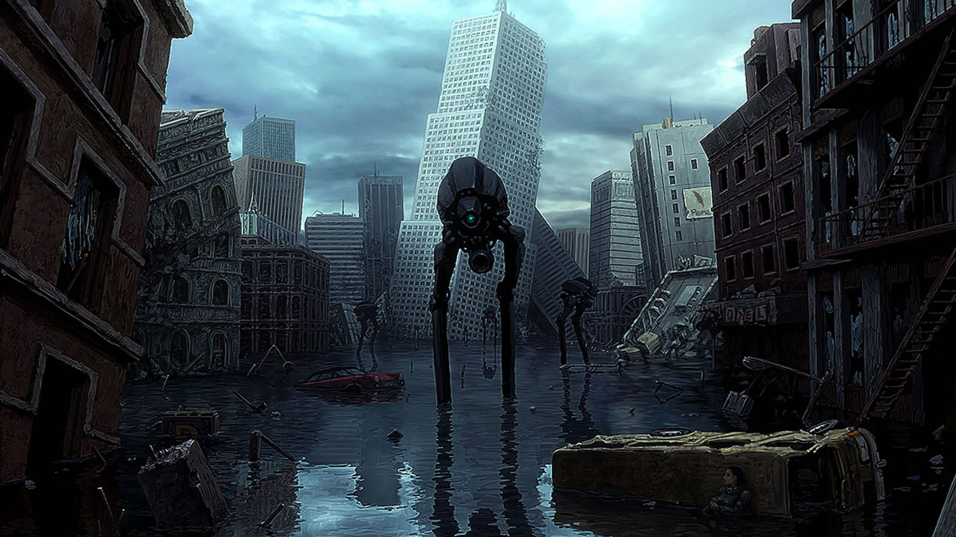 Sci Fi Desktop Backgrounds: Desktop Wallpaper Science Fiction Theme