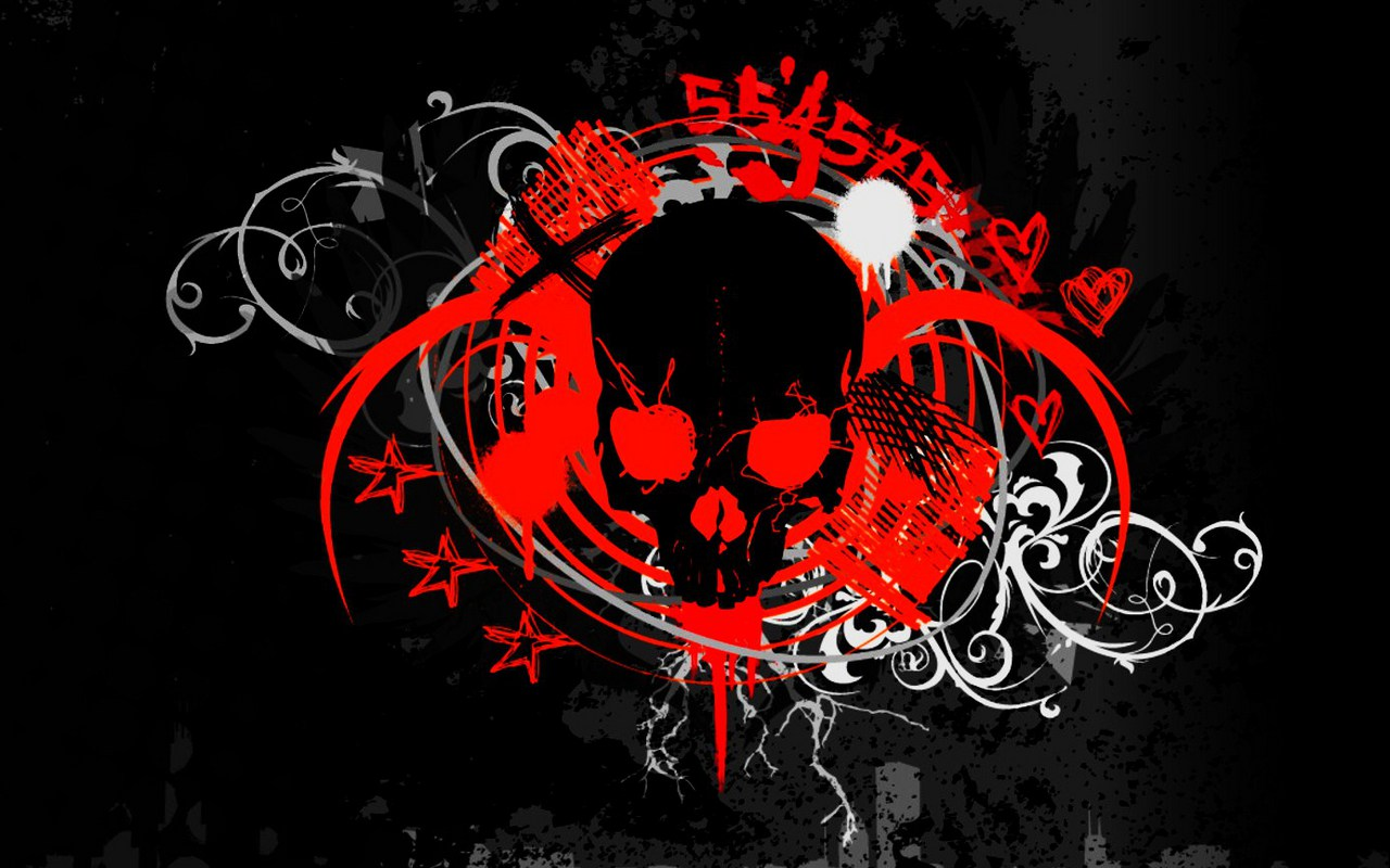Back Gallery For red skull wallpaper for walls 1280x800