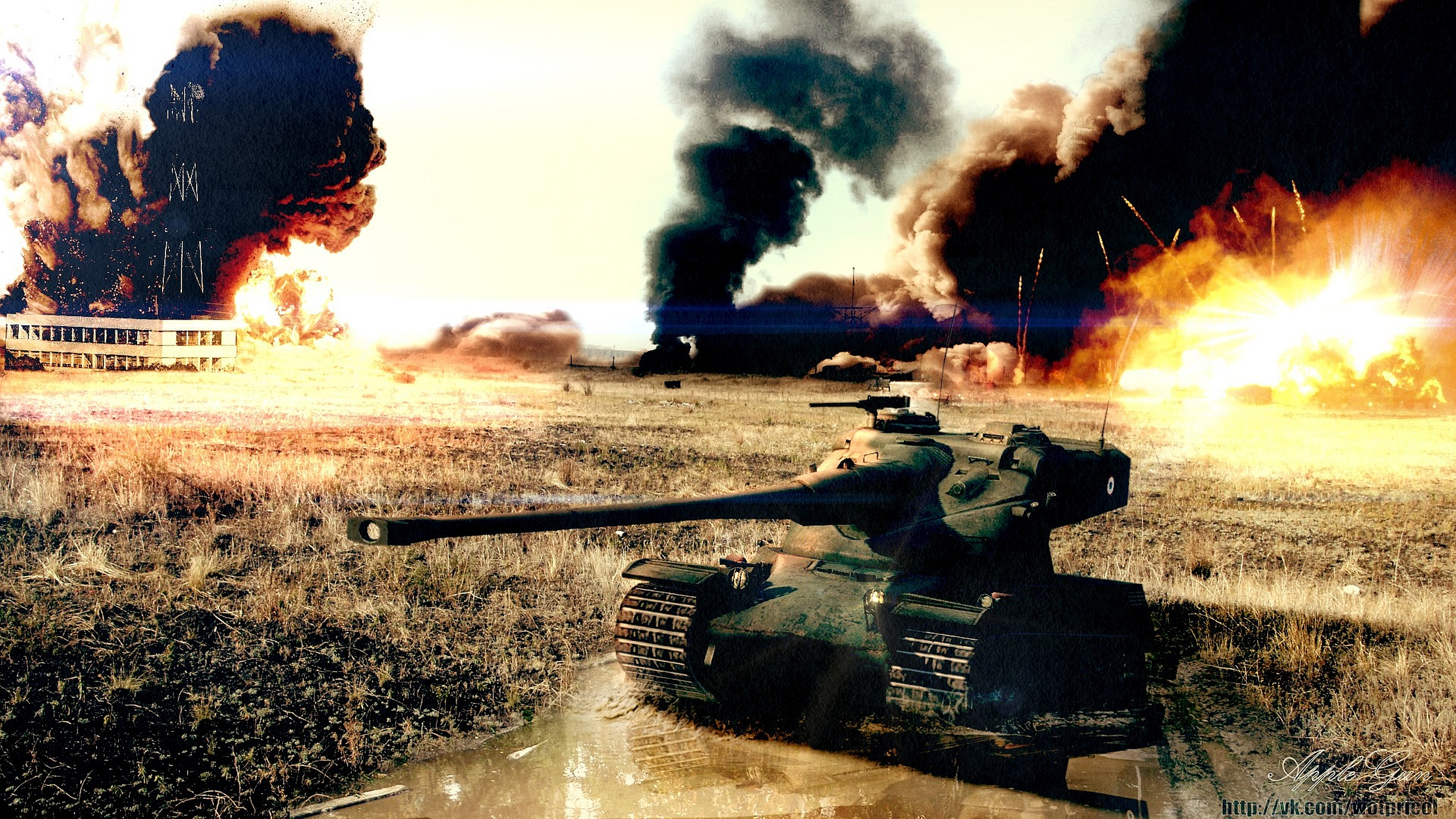 Free Download Tanks Tank Under The Rain Of Fire Wallpapers And Images Wallpapers 2560x1440 For Your Desktop Mobile Tablet Explore 67 Tank Man Wallpaper Fish Desktop Wallpaper World Of