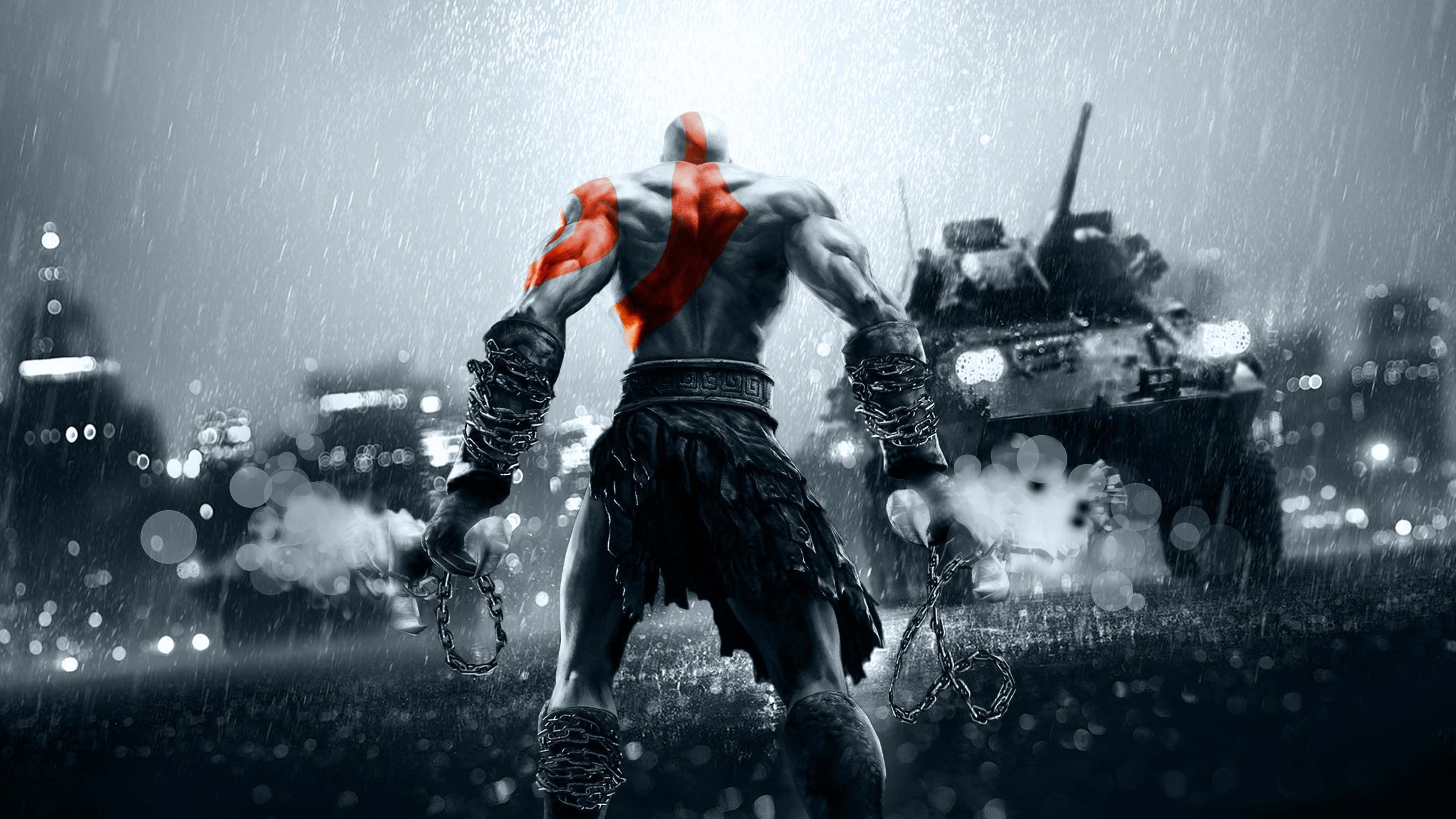 God Of War 4k Wallpaper Wallpapersafari