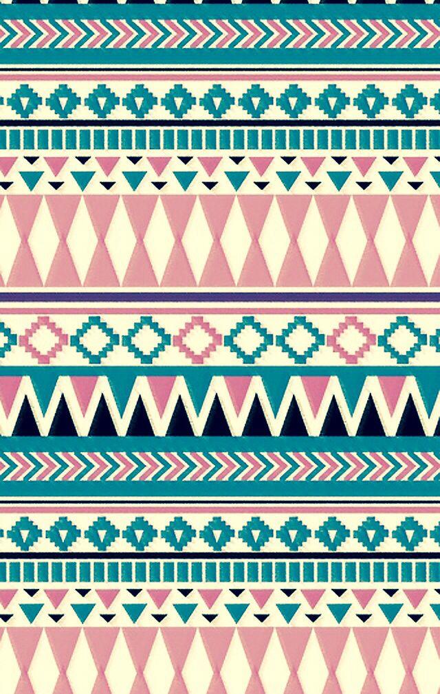 Aztec Pattern Wallpaper on WallpaperSafari