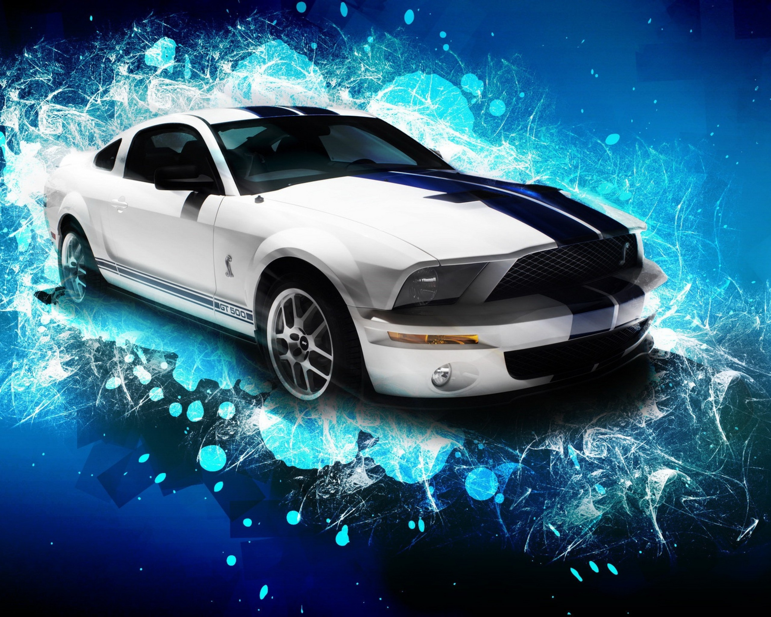 Ford Mustang Shelby GT500 Desktop Wallpaper in High Resolution at Cars 2560x2048