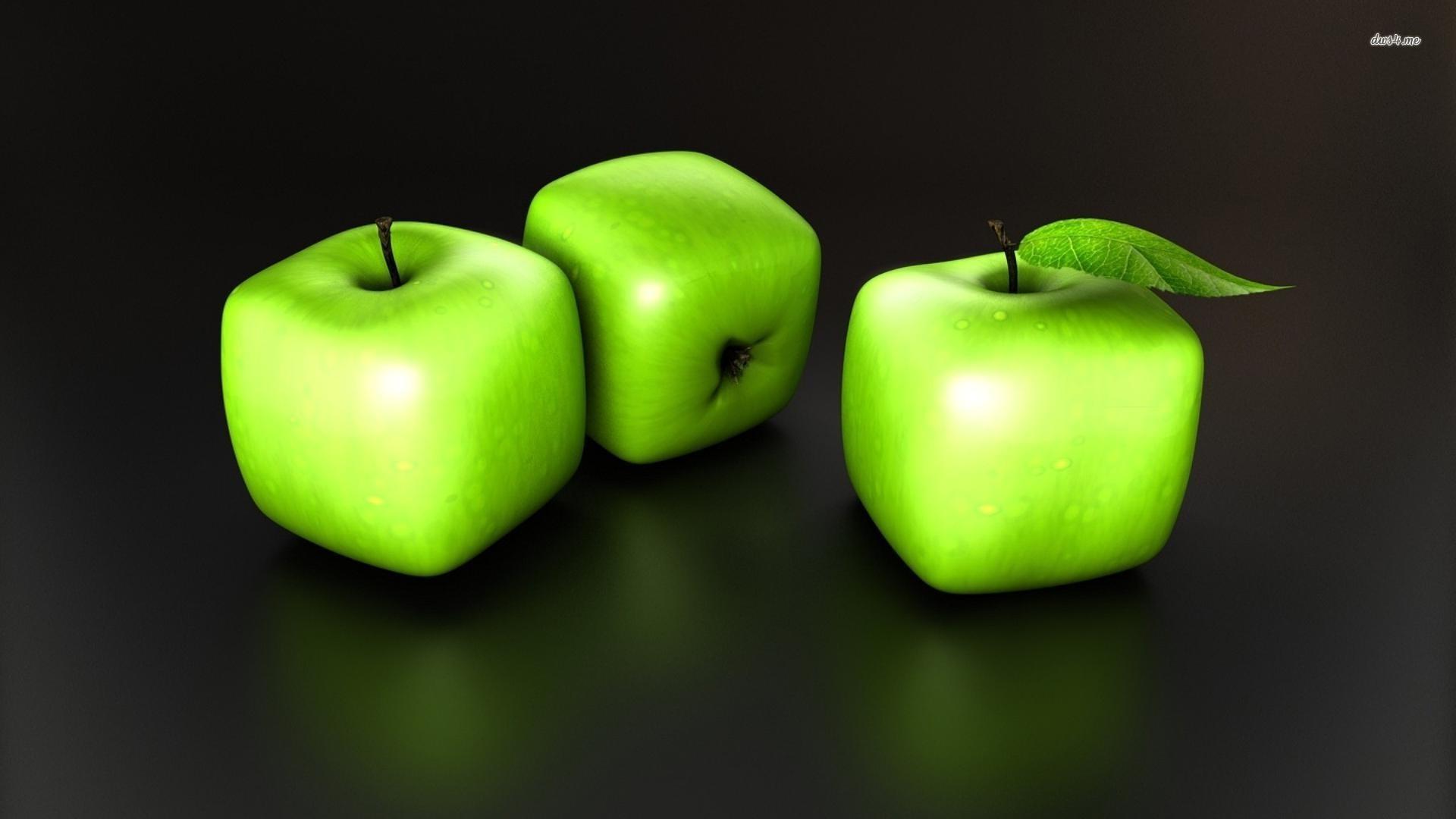 Cube apples wallpaper 1280x800 Cube apples wallpaper 1366x768 Cube 1920x1080