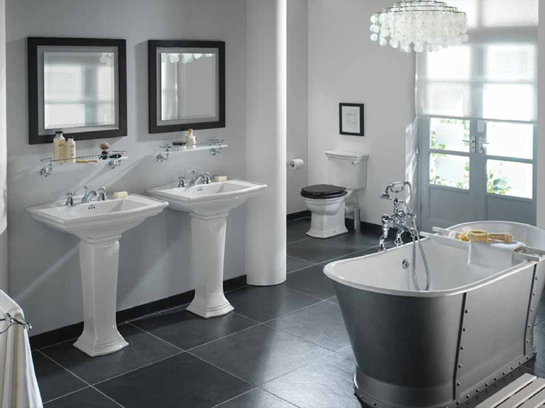 This Design Are Grey And White Bathroom Ideas 785x588