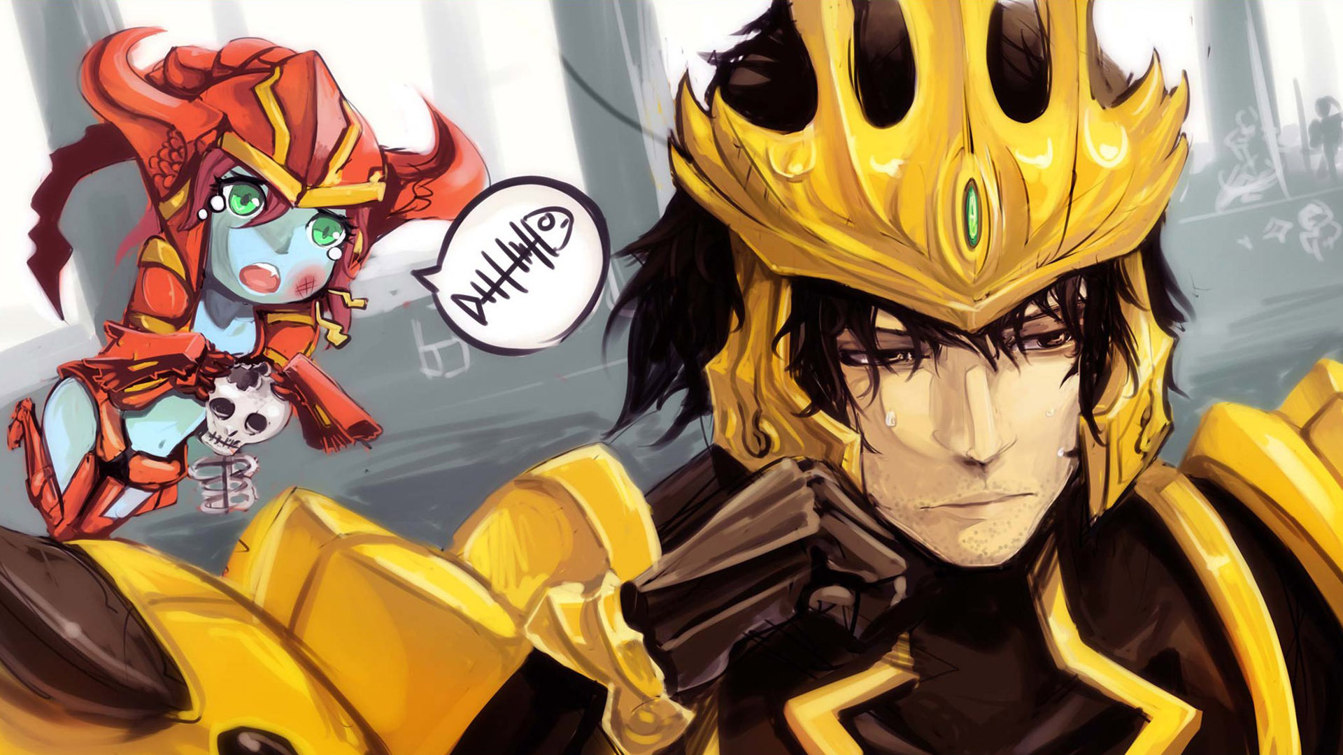 Free Download Anime League Of Legends Anime Hd Wallpaper 1920x1080