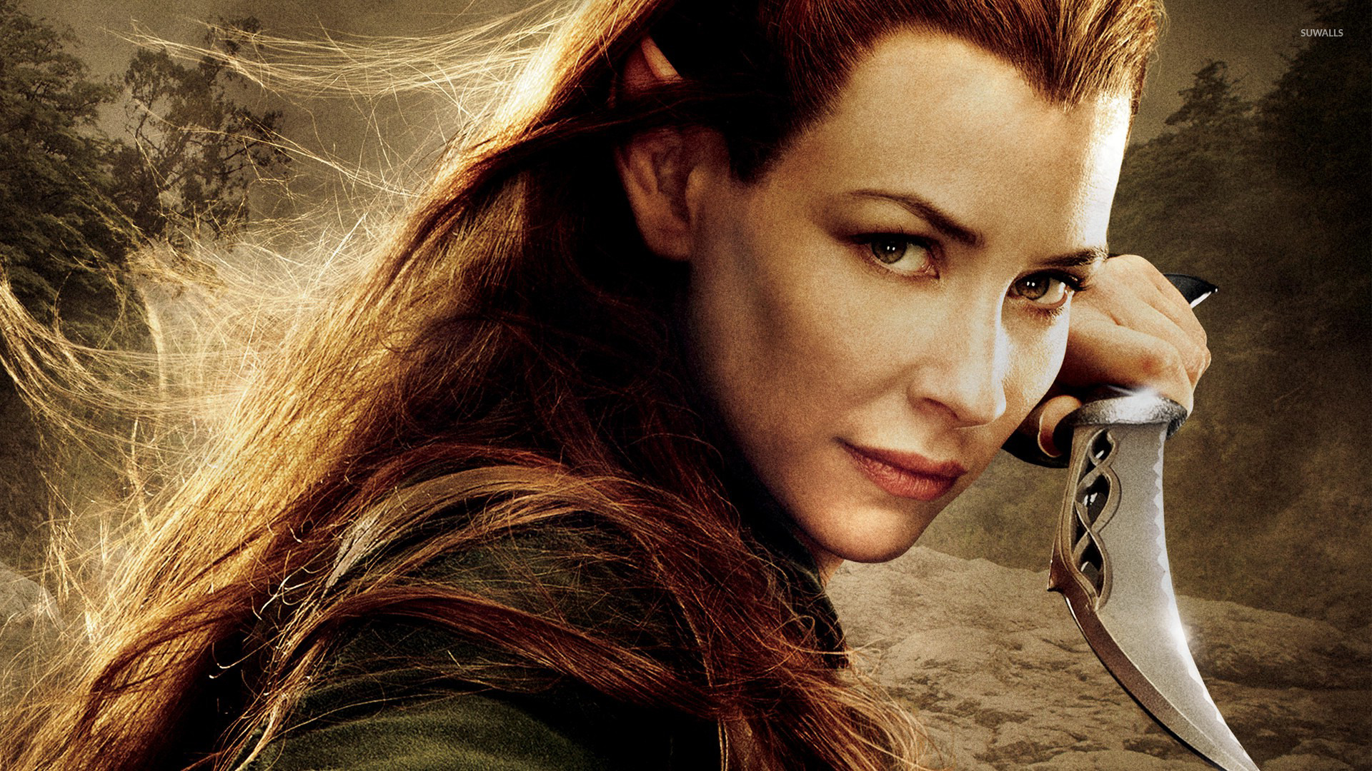 Tauriel   The Hobbit The Desolation of Smaug wallpaper 1920x1080 1920x1080