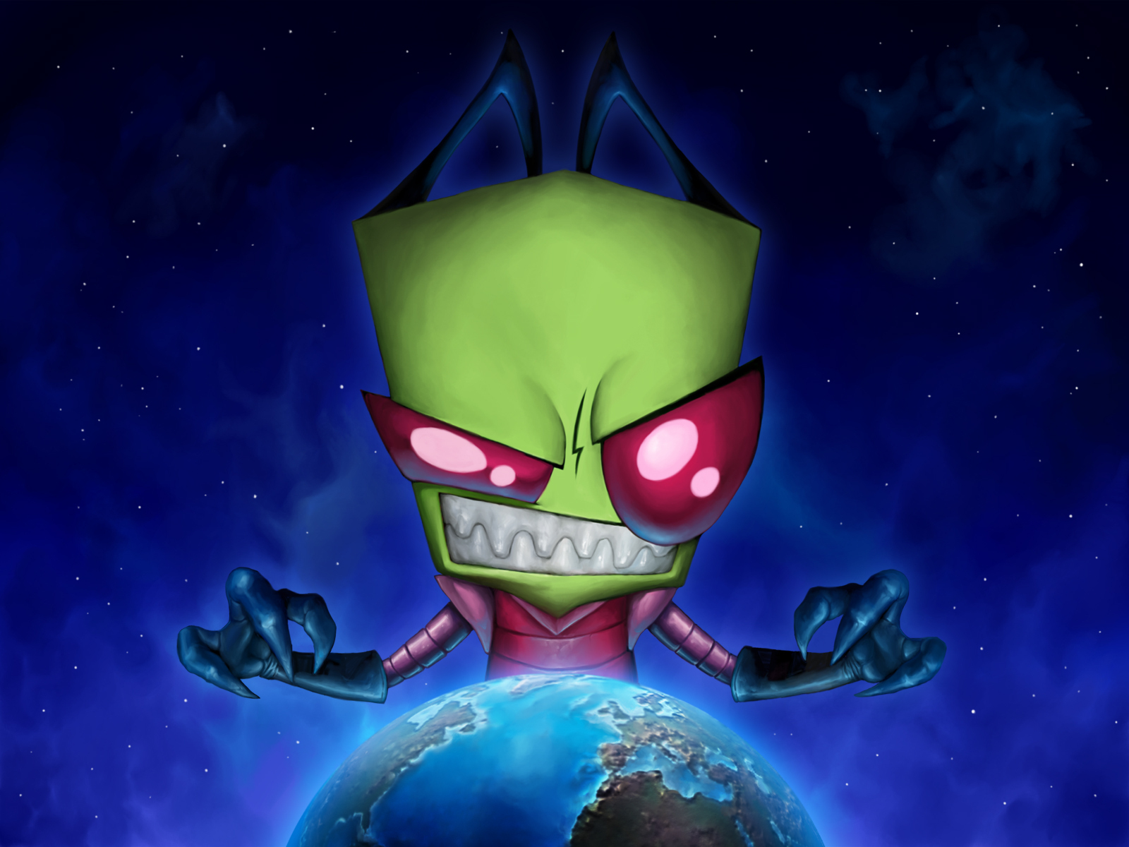 The most AWESOMEST Zim wallpaper ever - Invader Zim Wallpaper (7170499 ...